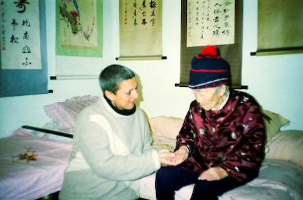 Nadia's magical meeting with Grand Master Yang Mei Jun in 2001